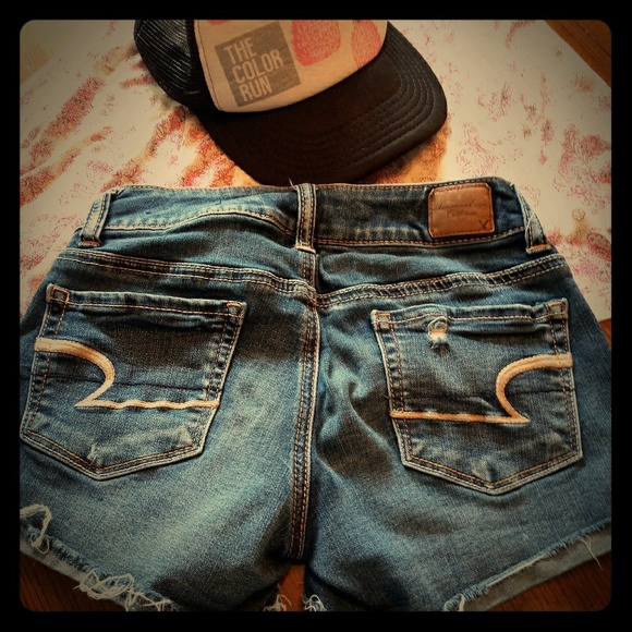 American Eagle Outfitters Pants - AEO short cutoffs